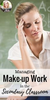 Managing Make-up Work within the Secondary Classroom:  5 Steps for Success! — Bespoke ELA