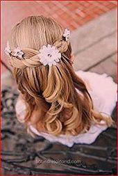 Erstkommunion Frisuren: Festliche Kinderfrisuren für …