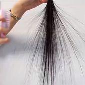 Tragbare elektrische Ionenhaarbürste   – Frisuren