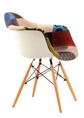 sillon eames patchwork el clsico silln eames tapizado en patchwork distinguido y ultra cmodo