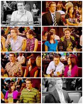Marshall and Lily helping Robin and Barney out. Swarkles ship forever on How I M…