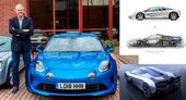 Gordon Murray Pulled Apart His Personal Alpine A110 To See Why It's So Good   Carscoops
