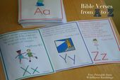 ABC Bible Verses for Children {free printable!} – Wildflower Ramblings