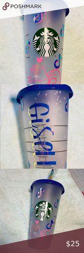 Tik Tok Kitty Starbucks Color Changing Cups Starbucks Starbucks Cups Cup