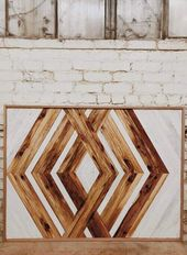 Reclaim those pallets that have been deemed useless and make them into cool wood…