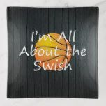 TOP Basketball Swish Trinket Trays | Zazzle.com  – Slogans and Sayings Collection
