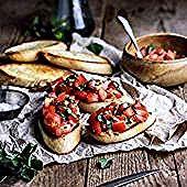 Traditionelle Bruschetta   – KptnCook App – Gesunde Rezepte und Kochen – #App #B…