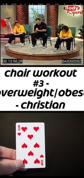 Chair workout #3 – overweight/obese – christian fitness – faith & wellness – youtube #chairworkout