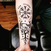 Tattoo : 110 des Meilleures Idées de Tatouage Viking tendances 2020