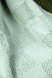 Baby Blanket Ravelry: F678 Seed Blocks Baby Blanket pattern by Plymouth Yarn Design Studio