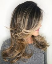50 Cute and Effortless Long Layered Haircuts with Bangs #23: Long Hair with Feat…