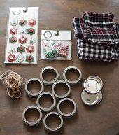 DIY Mason Jar Lid Christmas Ornaments-1