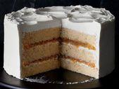 Apple-Rum Spice Cake