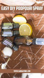 Das BESTE DIY Poopouri Rezept, das die Gerüche am besten maskiert   – Essential Oils DIY