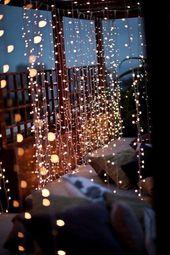 unglaublich 10 Wasserfall String Light Hochzeitsdekoration Ideen, #Hochzeitsdekoration #Idee…