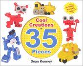 ** Coole Kreationen in 35 Teilen Lego Book | Hauptfoto (Titelbild)   – Adhd behavior