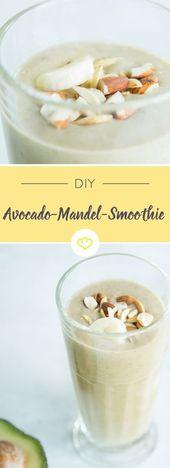 Avocado-Mandel-Smoothie – das gibt Kraft   – Gute Rezepte
