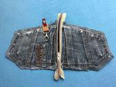 Kostenlose Nähanleitung Jeans Upcycling Täschchen