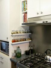 7 Small Space Storage Tricks For Your Kitchen