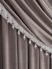 Laurence Llewelyn-Bowen Grande Finale Reversible Faux Silk Curtain Scarf – Ilver/Charcoal – 457Cm(180Inch)