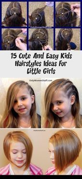 15 Cute And Easy Kids Hairstyles Ideas For Little Girls – BABY  Simple Hairstyle…