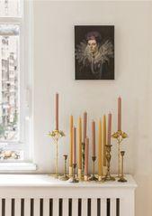 Deko-Ideen mit Kerzen   – Wohnaccessoires