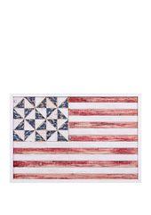 Patton Picture Geometric American Flag Wood Wall Art Wood Wall Art Diy American Flag Wood Rustic Wood Wall Art
