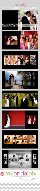 Wedding Album Template ~ Magazine Templates on Creative Market - photo album templates free