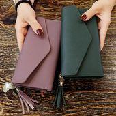 2019 Fashion Womens Wallets Einfache Geldbörsen mit Reißverschluss Schwarz Weiß Grau Weiß Langer Abschnitt Clutch Wallet Weiche PU-Leder Geldtasche
