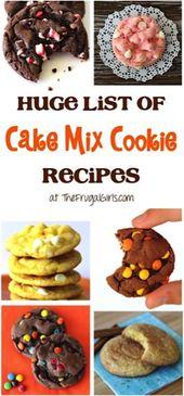 Diese Reese-Kekse mit Erdnussbutterbechern und Kuchenmischung ergeben …
