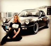 Classic Cars And Girls Woman Beautiful 2