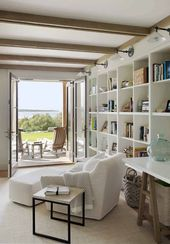 Gorgeous beach house in Massachusetts with barn-like details   – Marthas vineyard interior design
