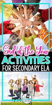 Finish of the 12 months Actions for the Secondary Classroom