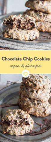 Biscoitos de Chocolate – Veganos e Sem Glúten   – Laktosefreie & milchfreie Rezepte