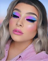 6 41 pm jettelag ig idfcemely jeffree star cosmetics jeffree star cosmetics Jeffree Star Cosmetics On Instagram Cotton Candy Dream Jessicarose Makeup Created This Look Usin In 2020 Creative Eye Makeup Dramatic Makeup Colorful Eye Makeup