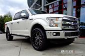 Ford F150 with 22in Fuel Maverick Wheels | #butlertire #Ford #F150 #FuelWheels #…