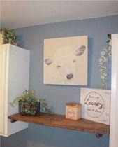 Waschraumdekor vom Hobbyvorraum und vom Magnolienhaus   – Home