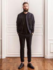 Black Separates, Urban Style, von BÖHEMIAN. Herren Herbst Winter Mode. Via Mensfa … – Mens Fashion Smart