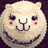 Alpaka Geburtstagstorte – # Alpaka #Geburtstag #Kuchen   – Birthday Cake Flower Ideen