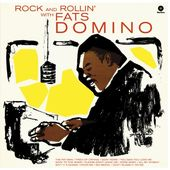 The Vinyl Court Rock And Rollin With Fats Domino Album Cover Art Record Album Album