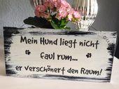Ideas de regalos para fanáticos de los perros o el taller creativo de Nanni   – DIY und Selbermachen