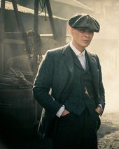 "Cillian Murphy as Thomas ""Tommy"" Shelby in Peaky Blinders – #anzug #Blinders…"