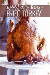Das beste gebratene Putenrezept Oh So Delicioso #Türkei #Friedtürkei #Thanksgiving …