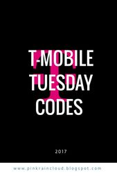 T Mobile Tuesday Codes Coding Simple Life Hacks Simple Life