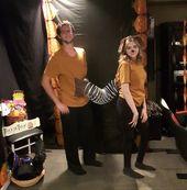 Halloween Slinky Dog Couple Costume