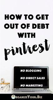 17+ Enorme Geld verdienen Bloggen Schulden auszahlen Ideen – Work from home jobs