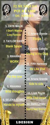 12 musiques pour faire du sport