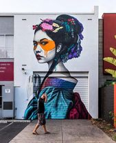 Shinka by Findac in Kent Town Australia.   Graffiti Characters, Urban Art, Urban…   – MV Drehplätze