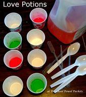 Love Potions Valentine Science Experiment for Preschoolers