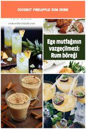 Diese Ananas-Kokos-Rum-Drinks sind wie der Sommer in Ihrem Glas! Wir beinhalten…  – gewicht-verlieren-motivation